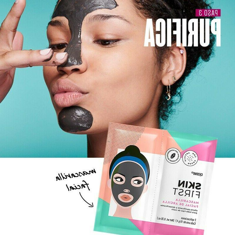 Skin First facial Cleanser and Mask