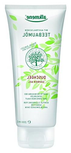 Tea Tree Oil Shower Gel Imported from Germany Vegan Natural