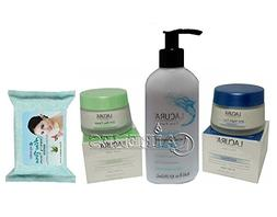 Lacura Antiwrinkle Day & Night Cream + Hydrating Cleanser +