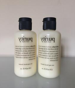 Lot 2 Philosophy PURITY MADE SIMPLE ONE - STEP FACIAL CLEANS