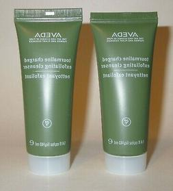 AVEDA LOT 2x TOURMALINE CHARGED EXFOLIATING CLEANSER FACIAL