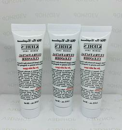 Lot 3*Kieh's Ultra Facial Cleanser For All Skin Types 1 oz /