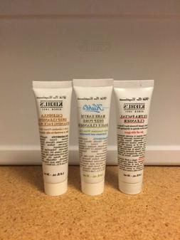 LOT 3 Kiehl's Rare Earth, Ultra Facial Cleanser, Calendula F
