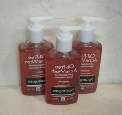 NEUTROGENA  OIL-FREE ACNE WASH PINK GRAPEFRUIT FACIAL CLEANS