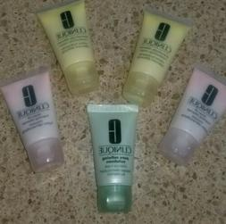 Lot Of 5 Clinique Travel 1 Oz Products Facial Soap Foaming C