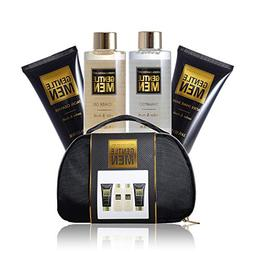 Lush Bath and Body Spa Travel Set For Men in Elegant Black O