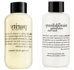 philosophy microdelivery exfoliating wash purity made simple