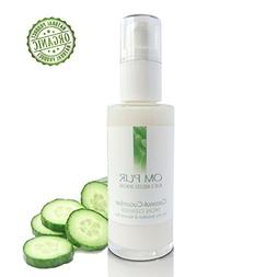 OM PUR Coconut Cucumber Facial Cleanser - Gentle Organic Dai