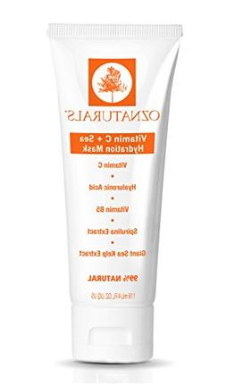 OZNaturals Vitamin C Facial Mask - Hydration Face Mask for D