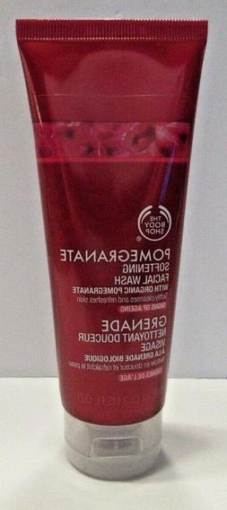 The Body Shop Pomegranate Softening Facial Wash w/ Organic P