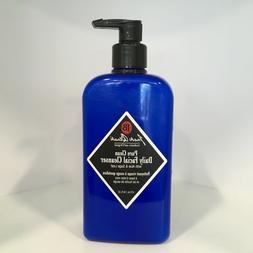 Jack Black Pure Clean Daily Facial Cleanser  16 oz +Free Sup