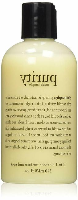Philosophy Purity Made Simple One-Step Facial Cleanser 8 Fl.