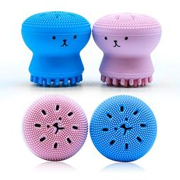 Top Rated Silicone Cleansing Brush by Wonash | Exfoliating &