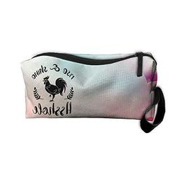 NYSOUVENIRS Rise & Shine A-Hole Toiletry Bag Multifunction C