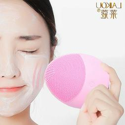 LAIKOU Silicone Face Cleansing Brush  Electric Facial Cleans