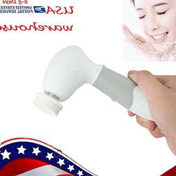 USA Facial Cleansing Brush Face Body Cleanser Exfoliators Sc