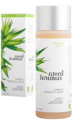 InstaNatural Vitamin C Facial Cleanser - Anti Aging, Breakou