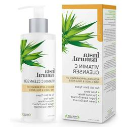 Instanatural Vitamin C Facial Cleanser Anti Aging Breakout F