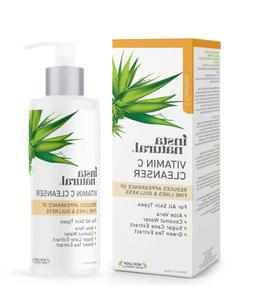InstaNatural Vitamin C Facial Cleanser Anti Aging Face Wash