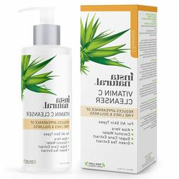 Insta Natural Vitamin C Facial Cleanser and Exfoliating Face