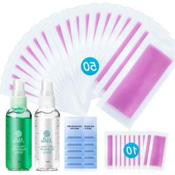 Yeelen Wax Strip Hair Removal Waxing Strip with Pre & After