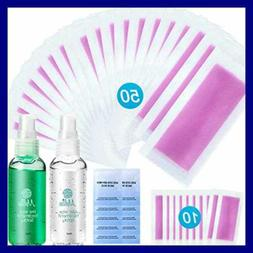 Yeelen Wax Strip Hair Removal Waxing W Pre & After Cleanser